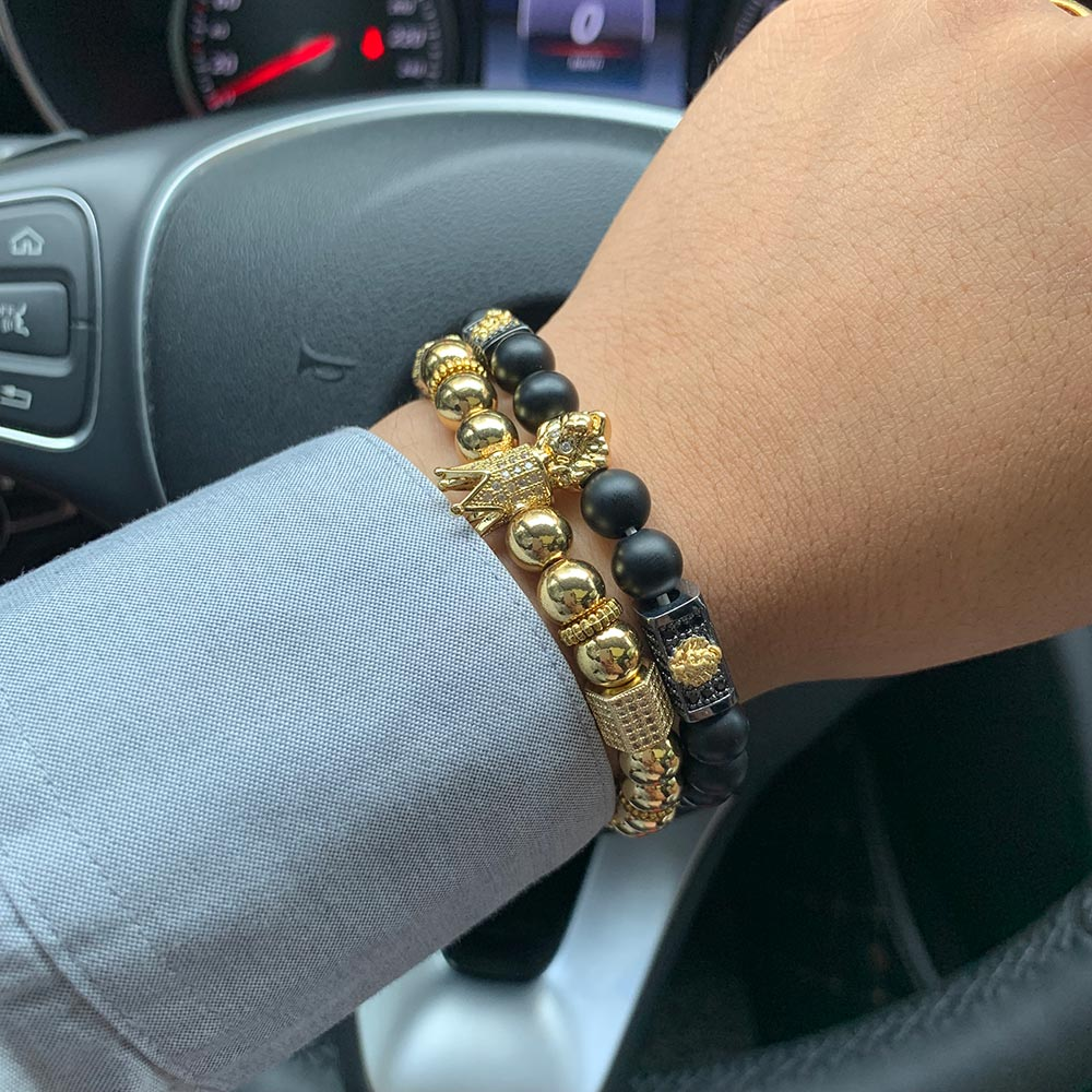 bracelet with crown