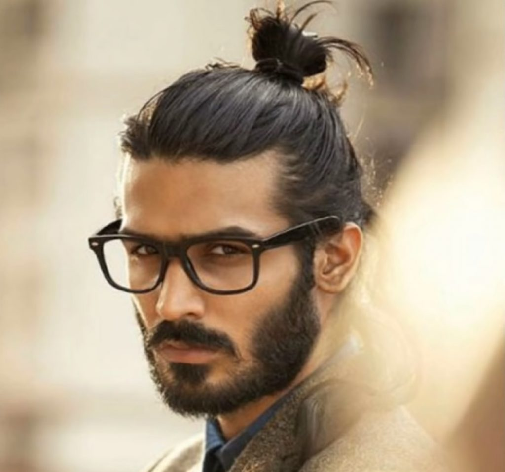 long hair style for men