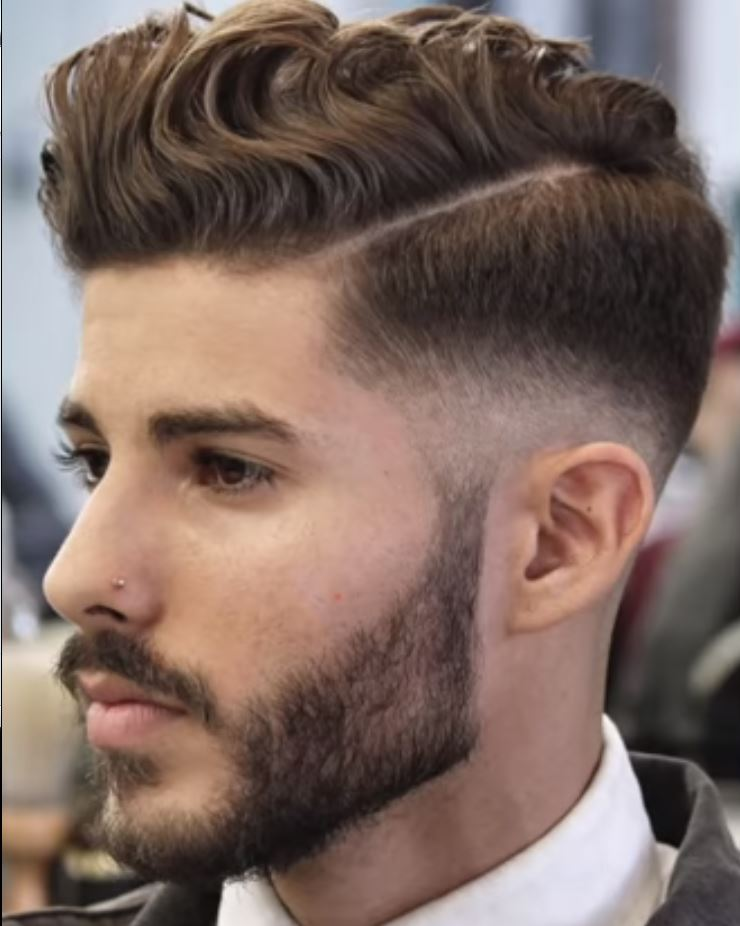 mens curly haircut styles