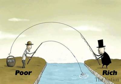 difference between rich and poor